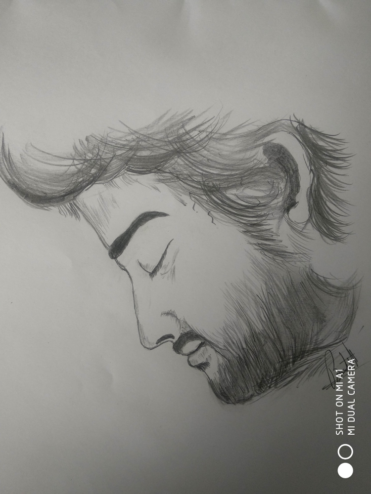 Portrait of Arijit Singh by Bimalnath@art on Stars Portraits
